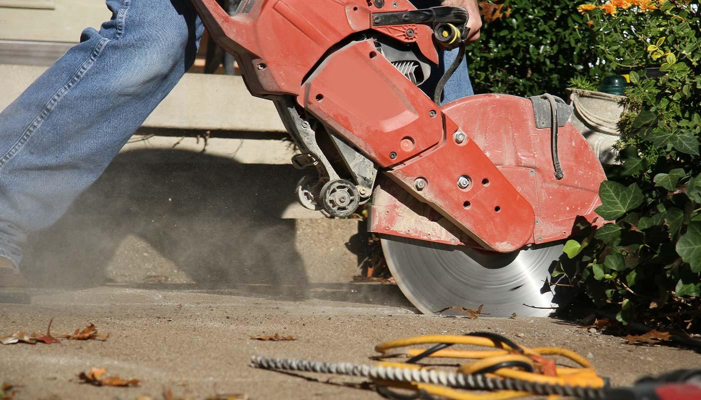 Concrete Slab Sawing in Edmonton